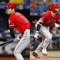 左右に打ち分けて二塁打・三塁打を打って走る。
