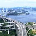 瀬戸大橋(世界一の鉄道・道路併用橋)30周年を迎えました。