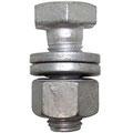 ボルト・ナットも溶融亜鉛メッキで保護されています。