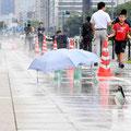 東京都は暑さ対策にミストなどテストを繰り返す
