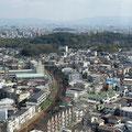 堺市の街中にある仁徳天皇陵
