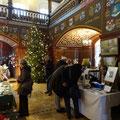 Weihnachtlicher Kunstmarkt 2017 im Wappensaal Schloss Lübben   -   (c) Atelier Anne Sänger