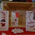 Weihnachtliche Geschenktüten   -   (c) Atelier Anne Sänger