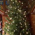 Weihnachtsbaum im Wappensaal   -   (c) Atelier Anne Sänger