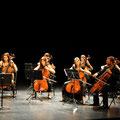 Concert de Questembert le 26 août 2012 (3ème à partir de la g.)