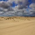 herrliche Aussicht über die Yaegerup Dunes