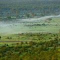 gigantische Aussicht über den Hwange Nationalpark