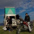 erste Bekanntschaft mit einem Mongolen