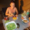feiner Salat...