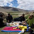 Picknick nach der Befreiung von Gandalf