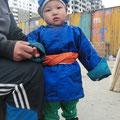 süsser, kleiner Mongole