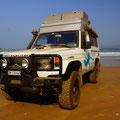Fotoshooting am Strand von Agonda