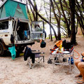 Camping at Parry Beach