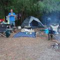 Campingspot bei Denmark mit Mikkel, Janine und Mila