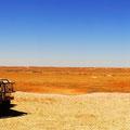 Ausblick von der Mine in die Wüste