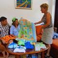 Geschenke für die bevorstehende Geburt. Herzlichen Dank :)