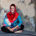 Nicky in Wazir Khan Mosque