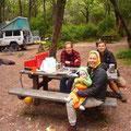 Frühstück in Boranup Forest (Nationalpark)