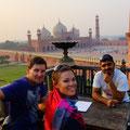 im Restaurant mit unserem Guide Saijad