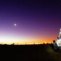auf dem Africa Overlander Camping im hintergrund erkennt man noch den Table Mountain
