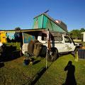 Campen in Coral Bay, nur auf Campingplatz möglich