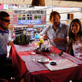 Am Käfele mit Christoph und Katja