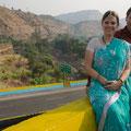 Nicky mit Sari....ready für die Hochzeit