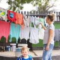 Textilschutz auftragen gegen Mücken, soll bis zu 30 Waschgänge halten