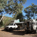 Campen im Mt. Remarkable Nationalpark mit Silvan und Martina