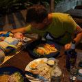 Candellight Dinner zu dritt