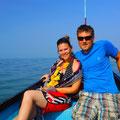 Delphinwatching mit Fischerboot am Geburri von Nicky