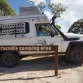 spannendes Nachtlager, wo sind die Crocs?