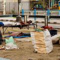 hartes und trauriges Leben in Kolkata