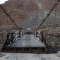 eine der 4 Hängebrücken auf dem Weg nach Shimshal