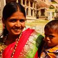 Indische Frau wollte unbedingt fotografiert werden