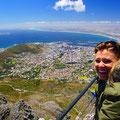 herrlich diese Aussicht nach Cape Town