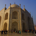 Taj Mahal von einer anderen Seite