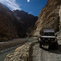 Crazy road to Shimshal