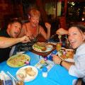 Dinner mit Roy's Eltern