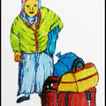 Flucht 1992 / In Bottrop leben zu diesem Zeitpunkt 350 Asylsuchende