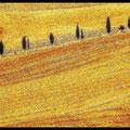 Van Gogh malt die Toskana