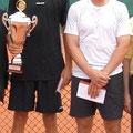 Turniersierger Pirmin Hänle (l.) und Finalist Andreas Kauntz