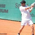Viertelfinalist Benjamin Ebrahimzadeh (TC BW Bensheim, HTV)