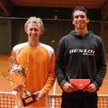 Die Finalisten Bastian Knittel (l.) und Pirmin Hänle