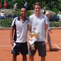 Marc Sieber und Turniersieger Dennis Bloemke