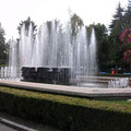 Ein Teil des Springbrunnens
