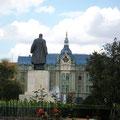 "Blick auf das Hotel ""Vila Dacia""- es wird nur leider gerade umgebaut"