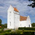 Kirche auf einer dänischen Insel