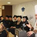 حفل تخريج الفوج الأول لطلاب أكاديمية سيزر للضيافة وفنون الطهي