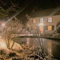 De villa in de winter